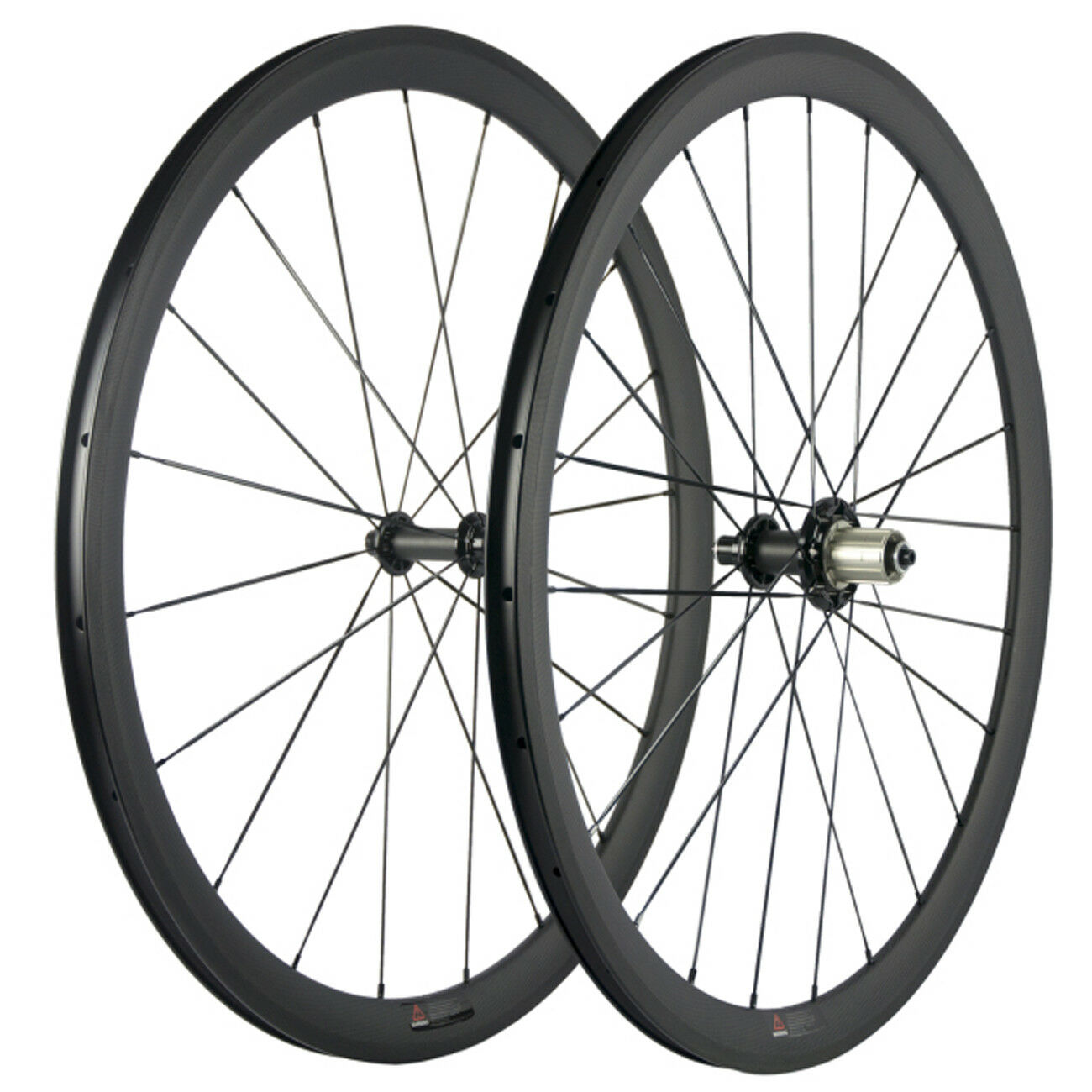 700C Clincher Carbon Fiber Wheels 38mm Wheel R51 Carbon  Hub Road Bike Wheelset  online retailers
