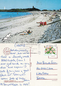 1993-L-039-EREE-BAY-GUERNSEY-CHANNEL-ISLANDS-COLOUR-POSTCARD