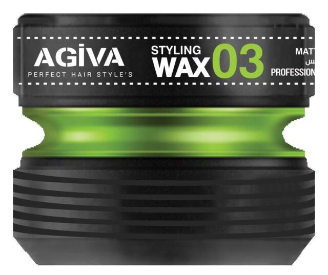 Agiva Matte Wax 03 175ml / Agiva Matte Look Water Proof Wax