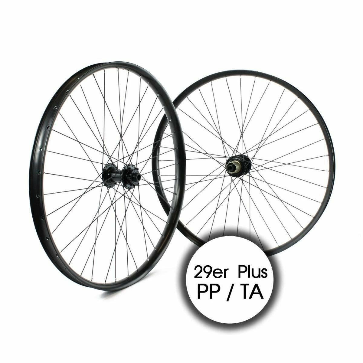 Paar Räder mtb 29er plus 11v Scheibe black BRT29ER0042P RIDEWILL BIKE Fahrrad