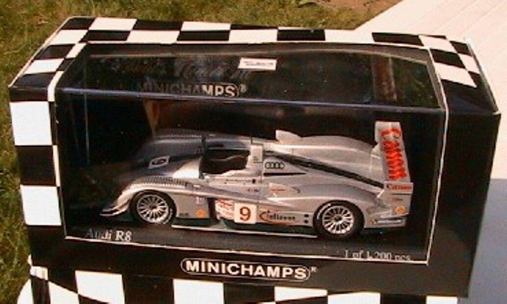 AUDI R8 SEBRING  9 12 HOURS 2003 MINICHAMPS 1 43 SALO KANE MCCARTHY CANON