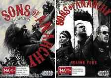 Sons Of Anarchy Season 3 & 4 : NEW DVD