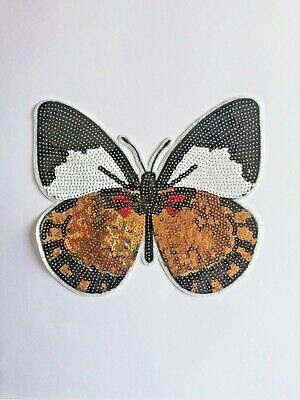 5stk Leuchtend Schmetterling Stickerei Patch Selbstklebend DIY Tasche Sticker