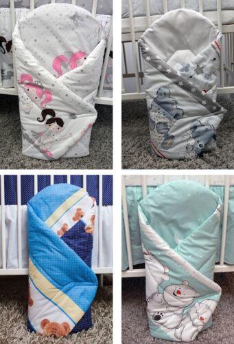 Babyhörnchen Babynest Schlafsack Kinderschlafsack Baumwolle 80x80 Kokos Einlage