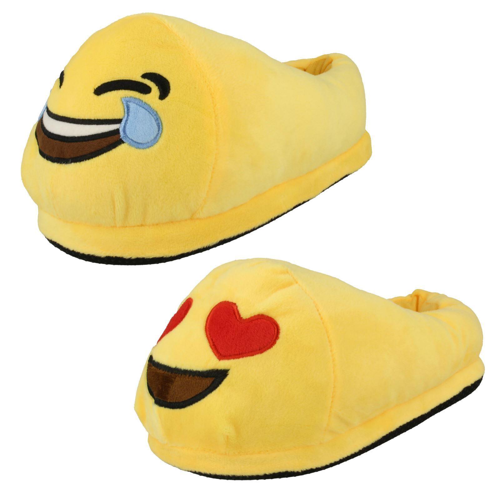 Gentlemen/Ladies emoji cara Win unisex Pantuflas Long-term reputation Win cara the praise of customers best seller 15f098
