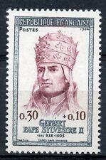 TIMBRE  NEUF LUXE °° N° 1421 GERBERT PAPE SYLVESTRE II