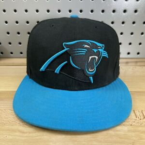 Carolina Panthers NFL New Era 59FIFTY Fitted Size 6-7/8 Black Hat Football Cap