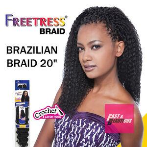 Image Is Loading Freetress Premium Synthetic Hair Braid Crochet Brazilian