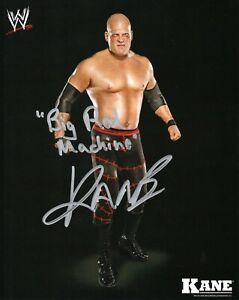 KANE-WWE-SIGNED-PHOTO-WRESTLING-8x10-BIG-RED-MACHINE