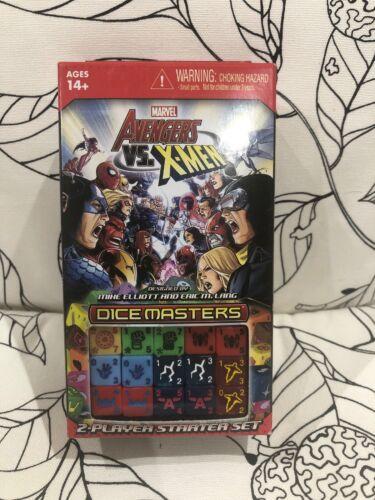 NIB Brand New Unopened Dice Masters Avengers vs X-Men Starter 1st Set