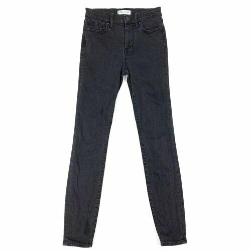 Stretch Jeans Madewell Sort Riser Størrelse 26 Denim Kvinders Skinny High qqfwt8