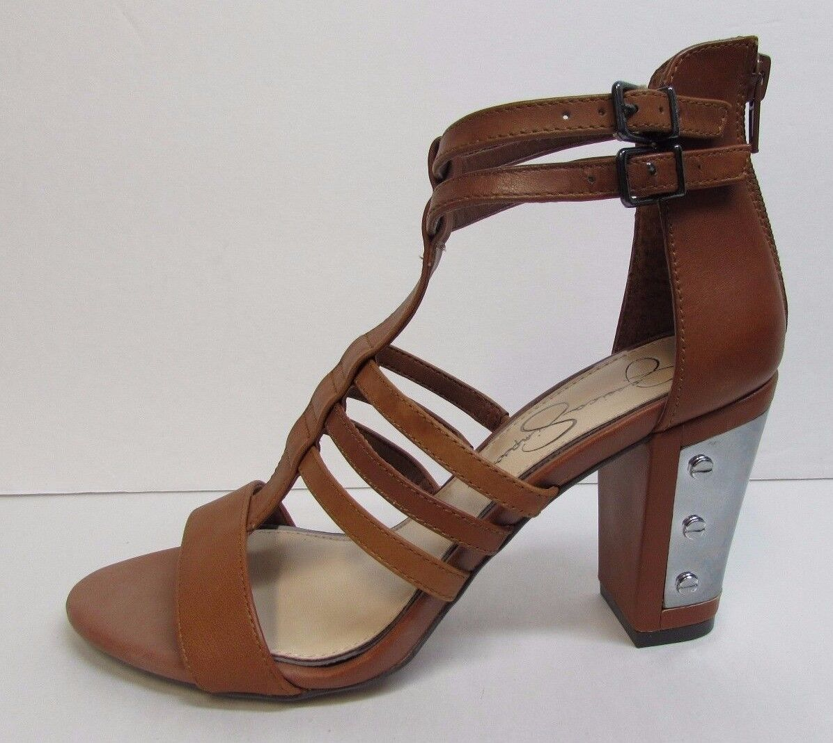 Jessica Simpson Size 6 Brown Leather Heels New Womens shoes