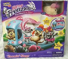 FURREAL FRIENDS FURRY FRENZIES ZOOMIN' STAGE FEATURING PAWS McROCKIN BRAND NEW