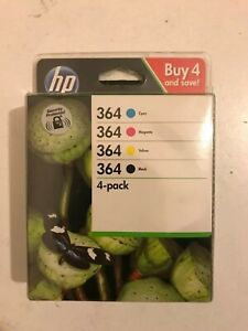 Genuine-Original-HP-364-N9J73AE-Multipack-BK-M-Y-C-Printer-Cartridges-No-Box