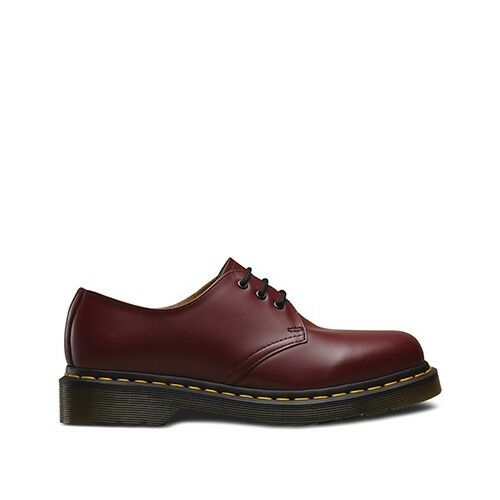 Dr. Martens 1461 glatt klassisch niedrig Bordeaux Schuhe Original 100% Italie 2    | Verbraucher zuerst