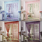 Cute Heart Line Tassel String Door Curtain Window Room Curtain Valance Useful