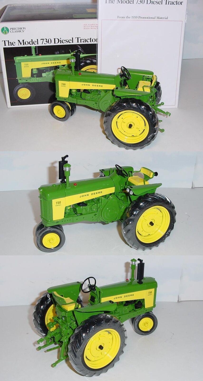 1 16 John Deere 730 NARROW FRONT précision  13 tracteur par ERTL NEW IN BOX  jamais ouvert