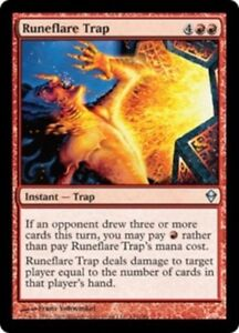 4x-Runeflare-Trap-MTG-Zendikar-NM-Magic-Regular
