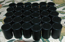 30 x Black Film canisters Containers Pots Tubs with lids - Geocaching Loom Bandz
