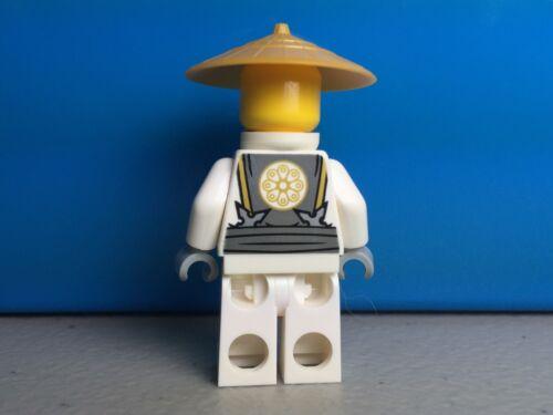 LEGO Ninjago Master Sensei Wu Ninja Dragon Minifigure 2015 70734 new