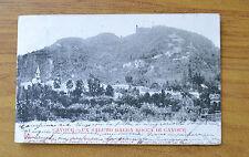 CARTOLINA TORINO CAVOUR LA ROCCA DI CAVOUR RARA VIAGGIATA 1902 SUBALPINA ZZ