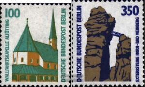 Berlin-West-834A-R-835A-R-mit-Zaehlnummer-kompl-Ausg-postfrisch-1989-Sehensw