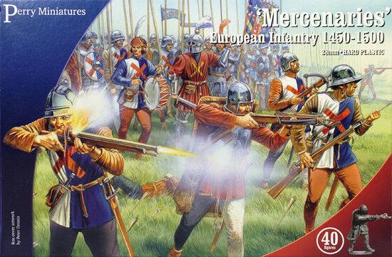 Mercenaires – Européen Infanterie 1450-1500 28mm Figurines X40 Perry Wr20