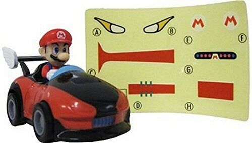 Mario Mario Kart Racing Collection Ver 3 Pull Back Cars with Stickers ~2.5/""