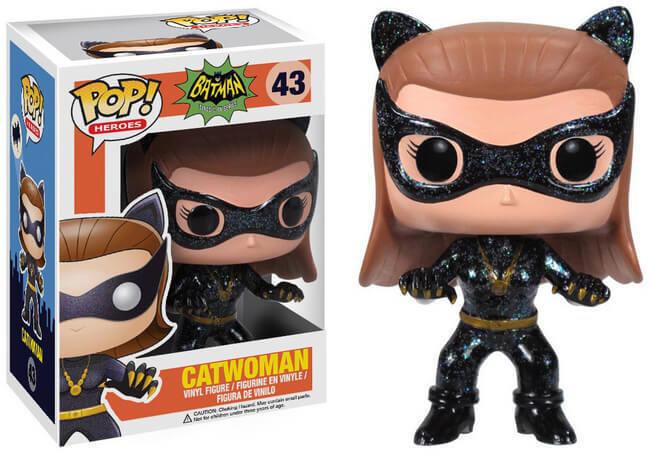FUNKO POP VINILE BATMAN CLASSIC TV SERIES Catwoman  43 ritirato presenti nel Vault