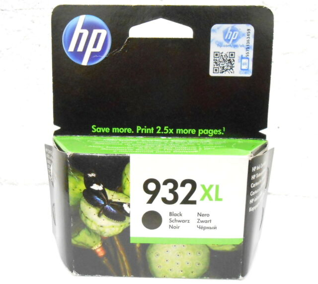 ink cartridge Original Source HP 932XL CN053AE Black 05/2017 Genuine Black