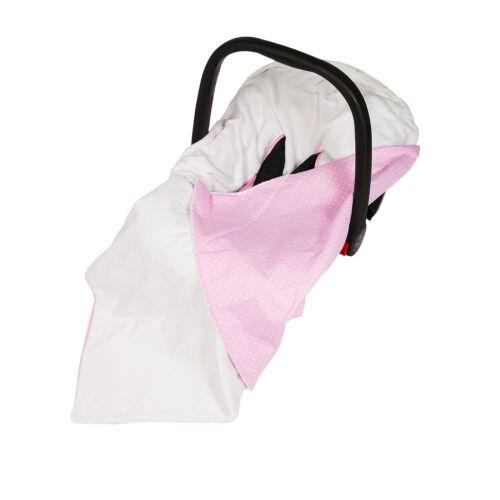 Car Seat Blanket Wrap New Baby Pink Polka Dot Wrap For Car Seat Travel Wrap