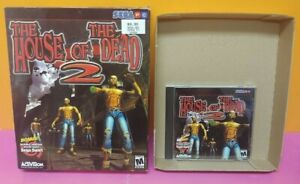 House of the Dead PC Game Authentic Mint Disc 1 Owner with Original Big Box SEGA