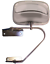 CIPA 41000 Universal OE Chrome Replacment Side Mirror Adjustable Large 5.5inch