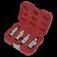 AK65561-Sealey-Magnetico-Bujia-Socket-Conjunto-de-herramientas-de-enchufe-de-unidad-4pc-3-8-034-Sq miniatura 5