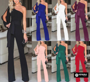 Tuta-Pantaloni-Casual-Cerimonia-Donna-7-Colori-Woman-Jampsuit-Romper-660027