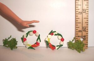 RE-MENT DOLL MINIATURE 1/6 SCALE FOOD GARNISHMENTS ACCESSORY LOT RETIRED #2
