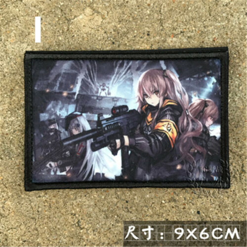 Girls/' Frontline 404 Griffin Kryuger AR UMP45 M4A1 Tags Patch Patches Hook Loop