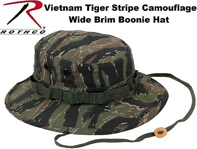Sky Blue Camouflage Military Tactical Wide Brim Bucket Hunting Boonie Hat 5802