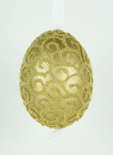 Goldenes Osterei Ostereier Osterdeko Dekorierte Eier