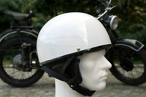 Oldtimer-Helm-Halbschale-fuer-Simson-AWO-EMW-Schwalbe-S51-Vespa-Groesse-L