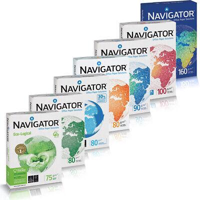 Navigator Premium Kopierpapier 75 80 90 100 120 160g//m² DIN-A4 A3 Drucker Papier
