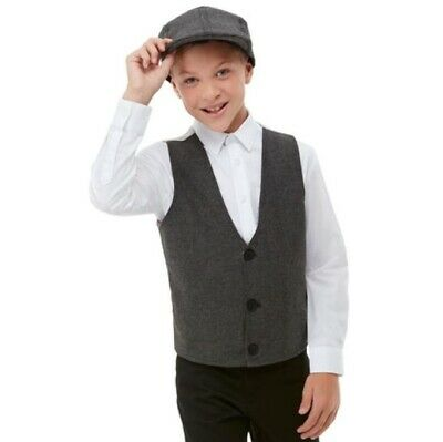 Mens Womens Gangster Instant Kit Fancy Dress Peaky Blinder Capone Fun Accessory