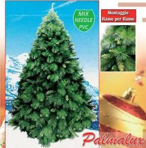 Albero Di Natale 5 Metri.Palmalux Albero Di Natale Maestoso E Foltissimo In 5 Misure Fino A 4 Metri Ebay