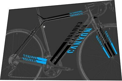CANYON Strive CFR 9.0 Team 2019 Frame Sticker Decal Set