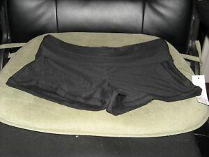 36dbe8b85eb08 nobo no boundaries Juniors XL 15 - 17 Yoga shorts solid dark black ...