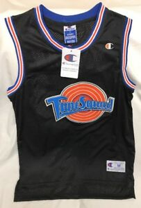 michael jordan space jam jersey black