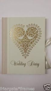 Vintage-Wedding-Planner-Book-Diary-Organiser-039-Love-Doves-039-Journal-Engagement-Gift