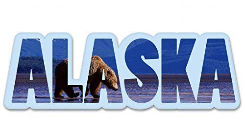 Alaska-Vinyl Sticker decal-sélectionnez la taille