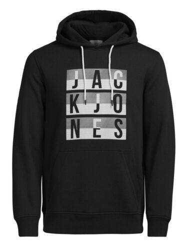 JACK /& JONES Originals Mens Overhead Hoodie GYM Hooded Cotton Sweatshirt Top