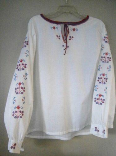 Vintage Handmade, Hand Embroidered Polish Peasant
